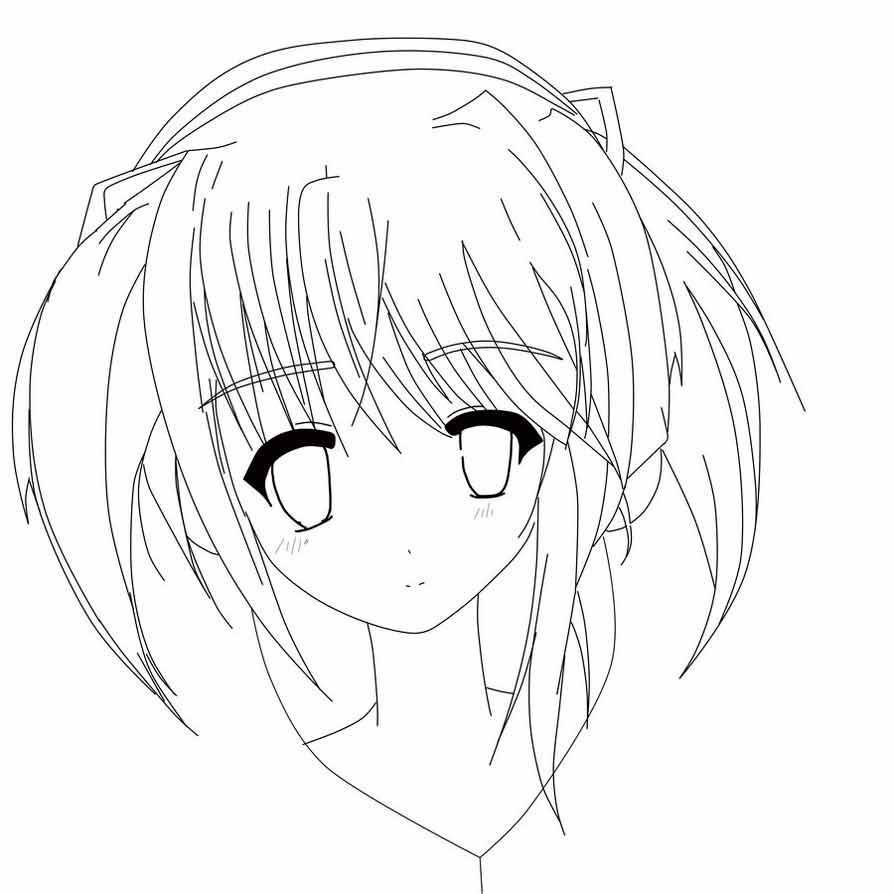 How To Draw Anime Eyes Coloring Pages
