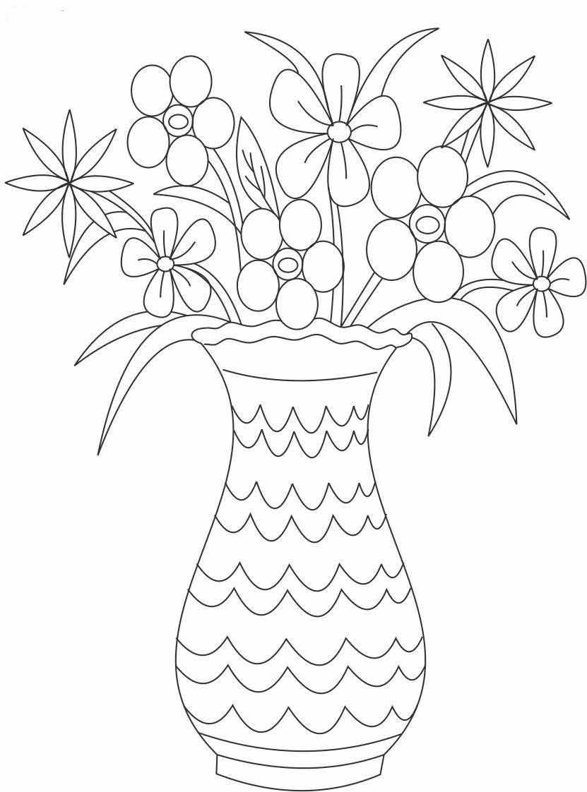 Раскраски по номерам цветы для нее