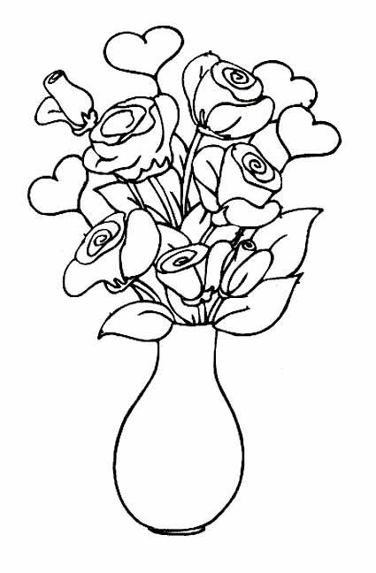 Раскраски маленькие цветочки распечатать