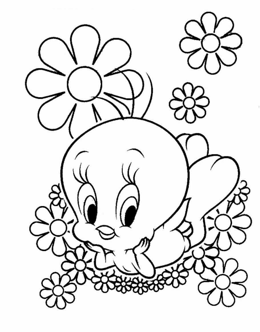 Раскраски цветы | Детские раскраски, распечатать, скачать