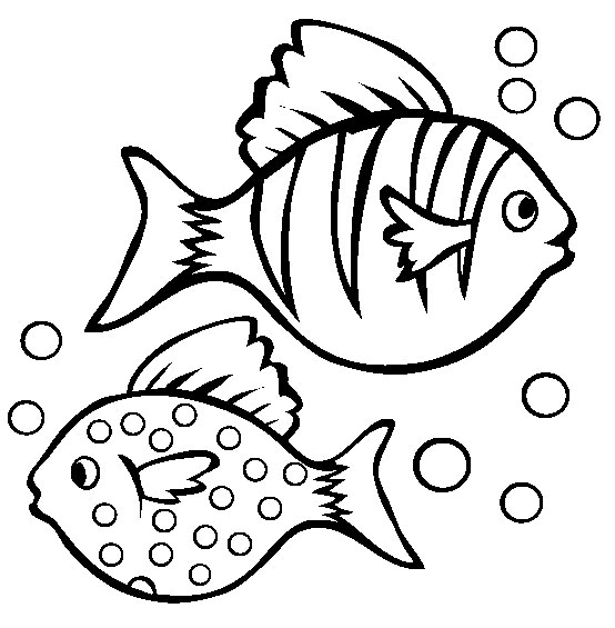 fish coloring pages for girls - photo#16