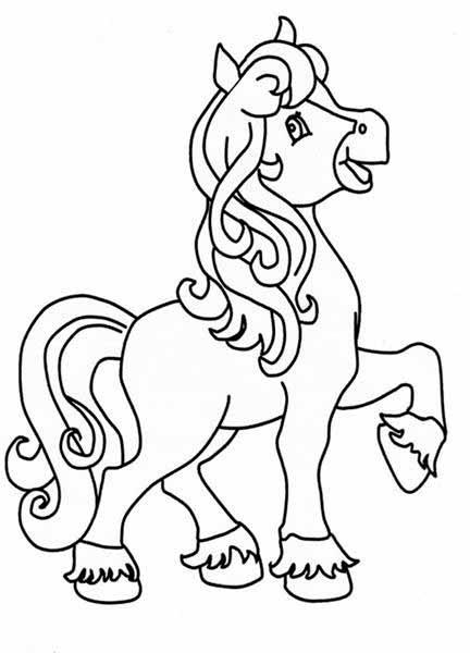 Лошади - это любимые животные не только у взрослых людей, но и у самых мале