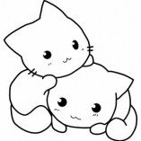 аниме котята