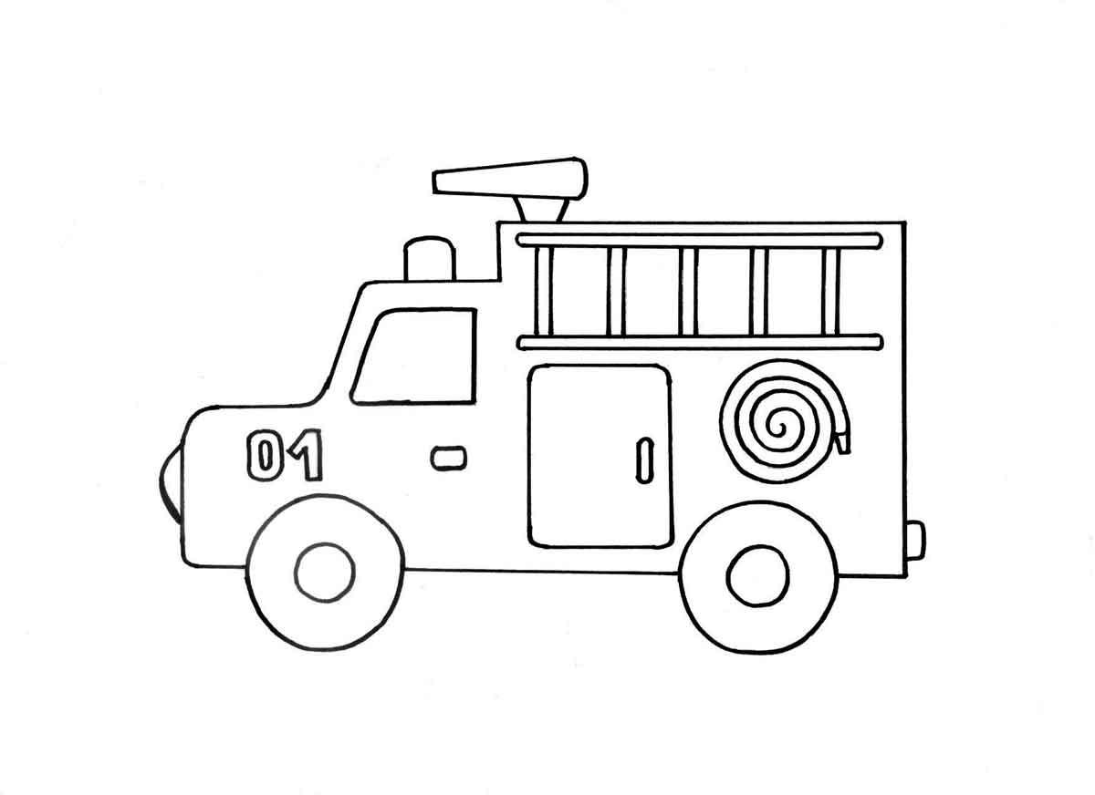 Рисунок машинки