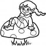 гриб и гном