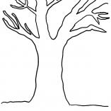 Дерево без листьев раскраска | Детские раскраски ...