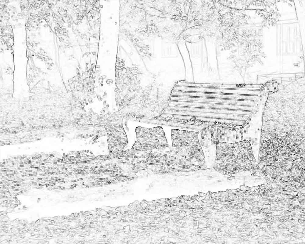 Раскраска осенний пейзаж | Детские раскраски, распечатать ...