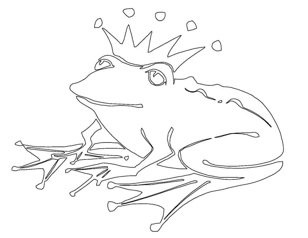 раскраска принцесса и лягушка детские раскраски