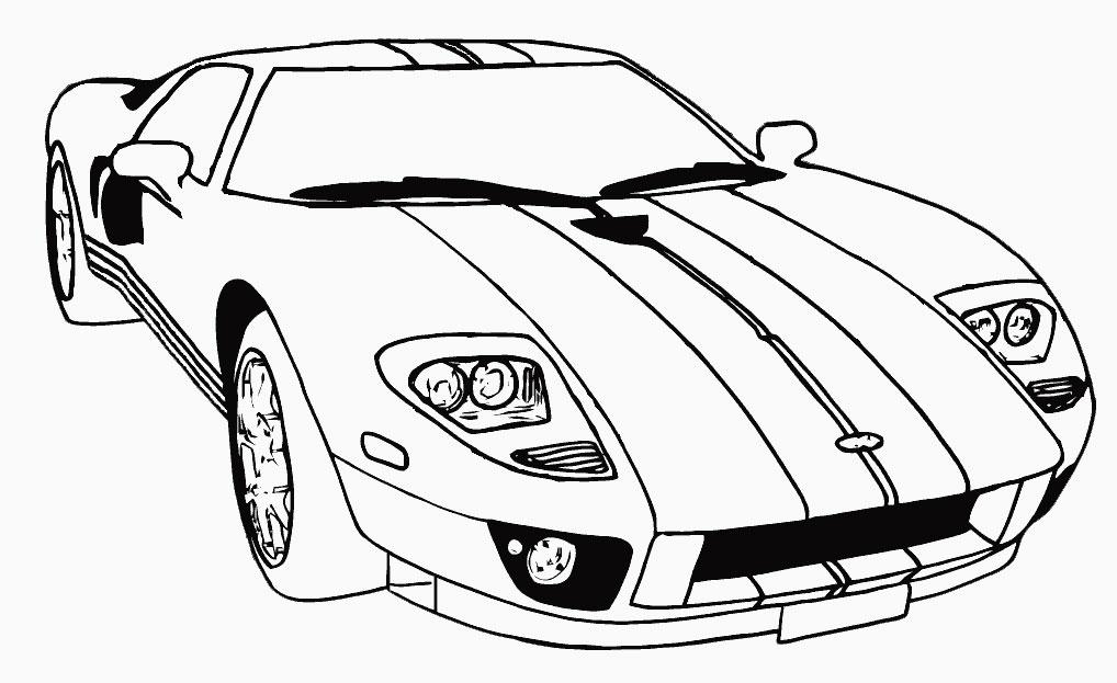 Раскраски для мальчиков гоночные машины | Детские ...