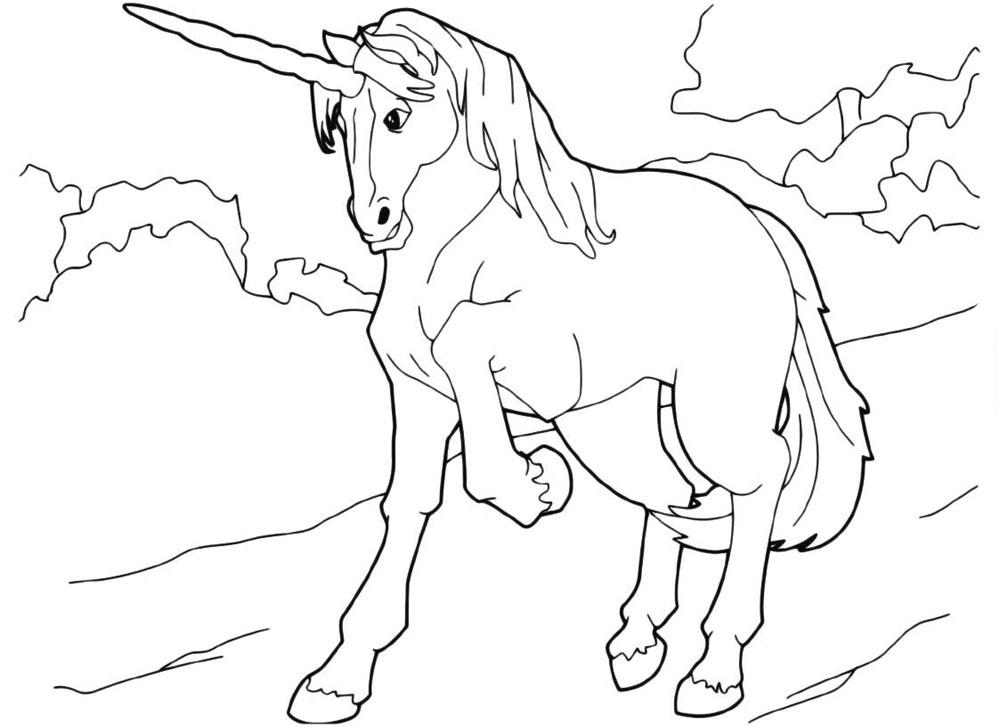 Раскраски сказочные животные