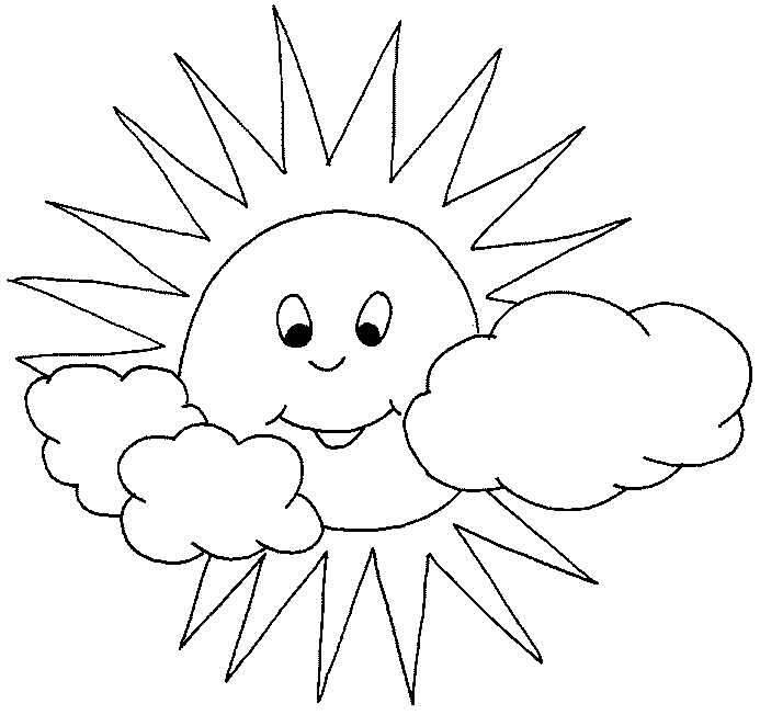 Картинки детское солнышко