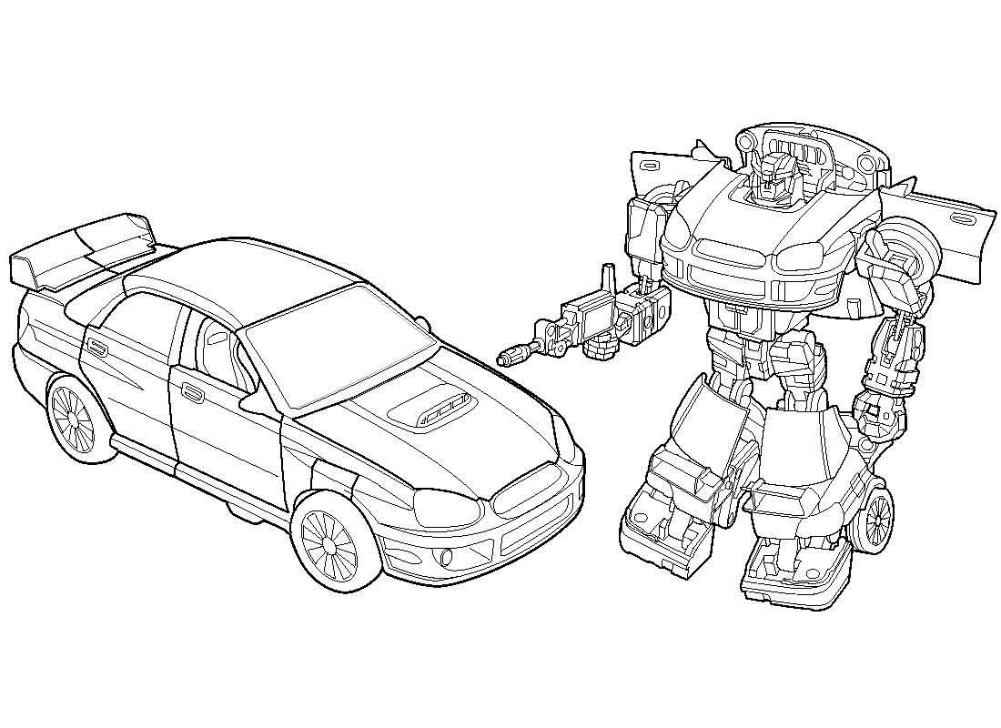 Раскраска для мальчиков роботы трансформеры