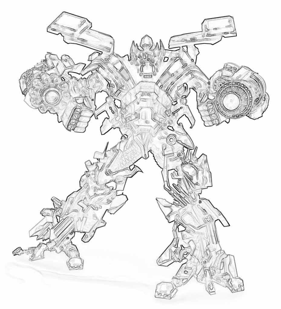 Раскраски роботы трансформеры | Детские раскраски ...