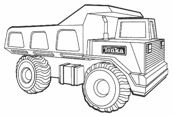 раскраски грузовые машины детские раскраски распечатать