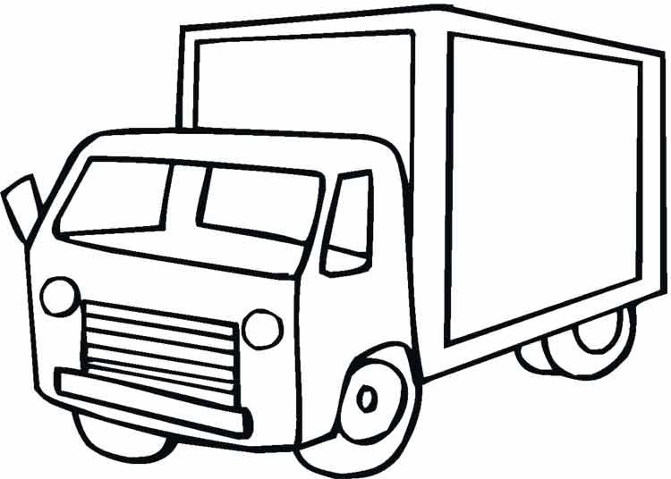машины грузовые картинки для детей