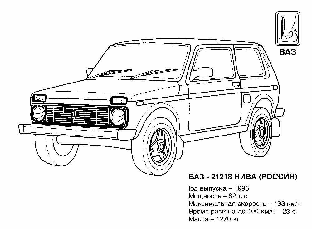 Рисунки машины джипы 4