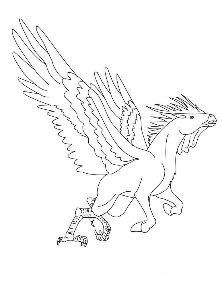 Лошадки с крыльями раскраски
