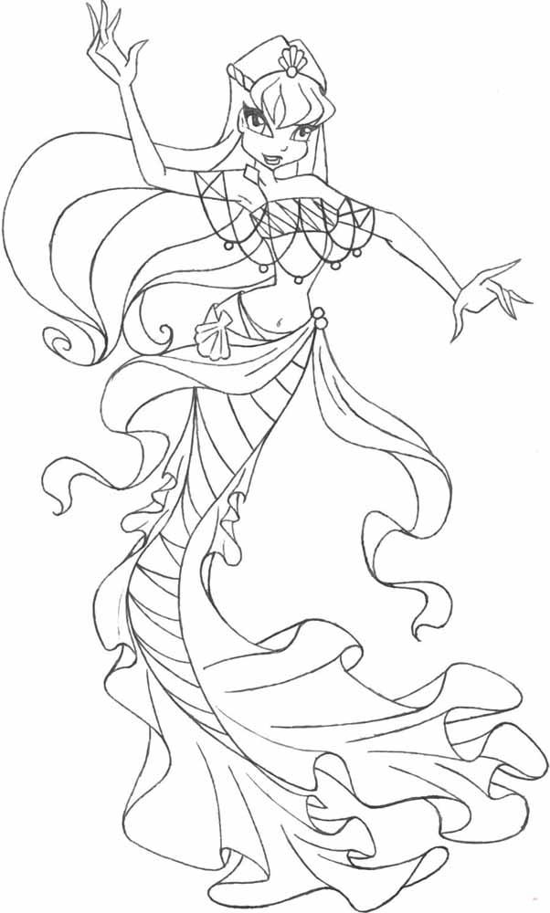 Раскраска винкс блумикс онлайн - 907e