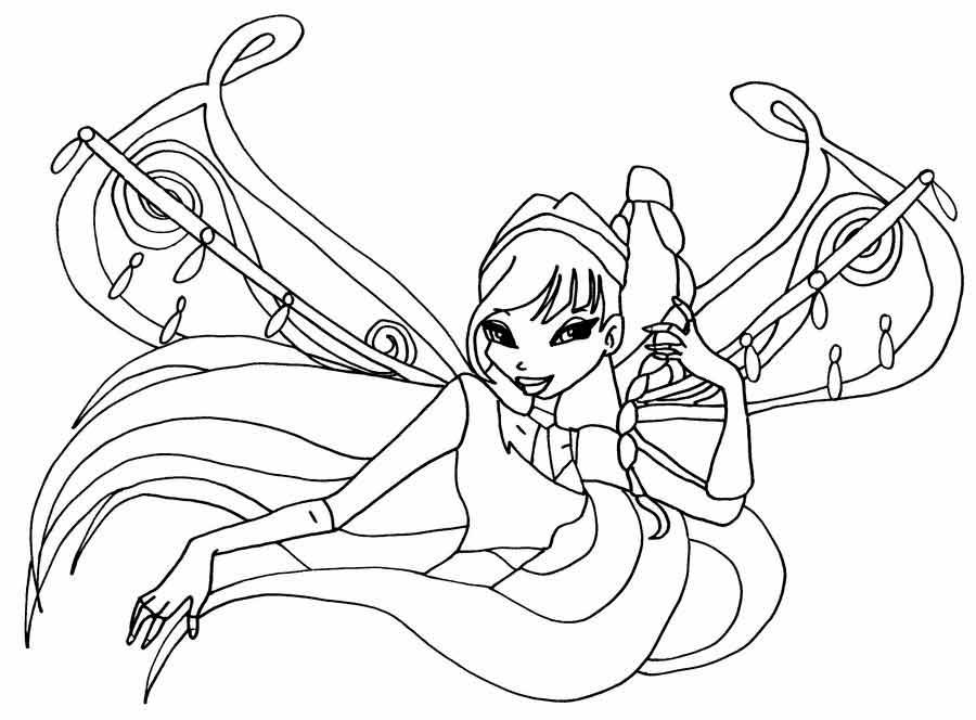 Игра раскраска феи